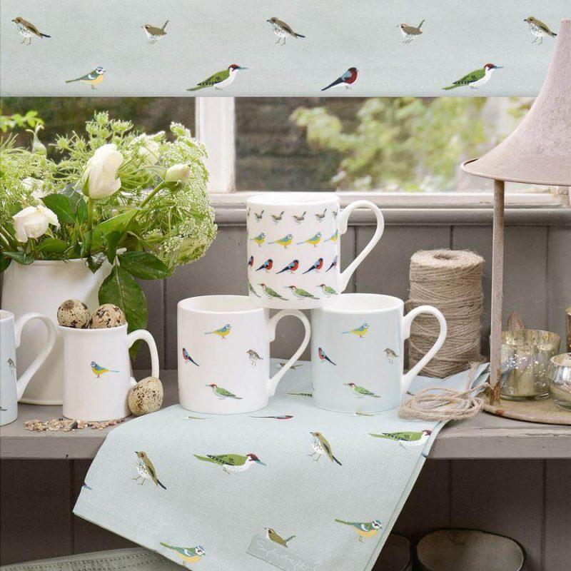 Sophie Allport Garden Birds Tea Towel