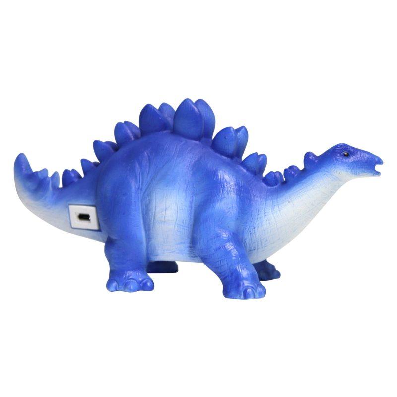 Blue Stegosaurus Mini LED Lamp