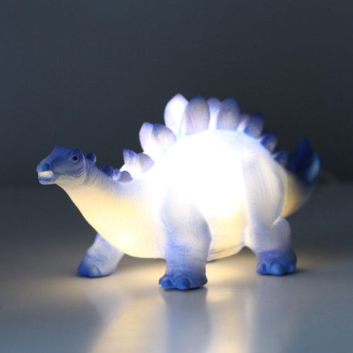 Blue Stegosaurus Mini LED Lamp