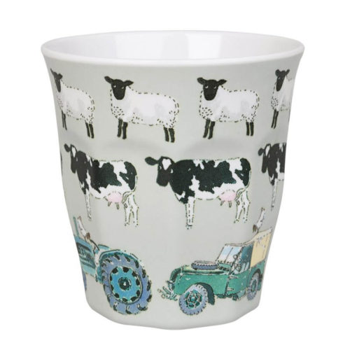 Sophie Allport On The Farm Childrens Melamine Beaker