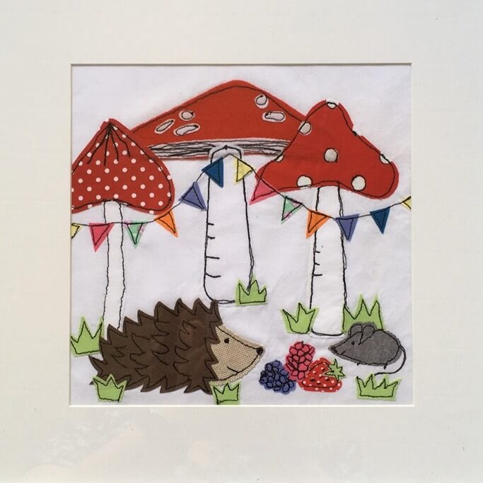 Free Motion Machine Embroidery Picture - Saturday 29th February: 10am-4pm