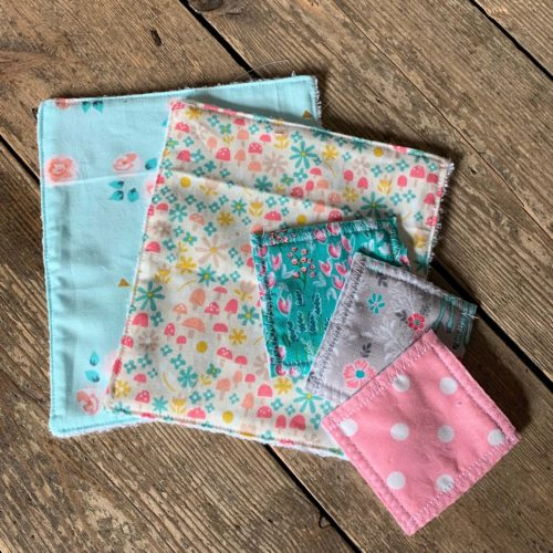 Eco Reusable Face Pads & Flannel Workshop - Saturday 14th March: 1.30pm-4.30pm