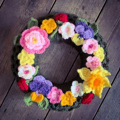 Crochet Spring Wreath Workshop - Saturday 21st March: 10am - 4pm