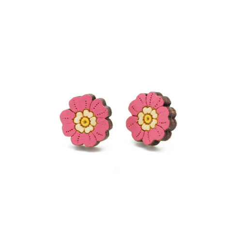 Layla Amber Primrose Earrings
