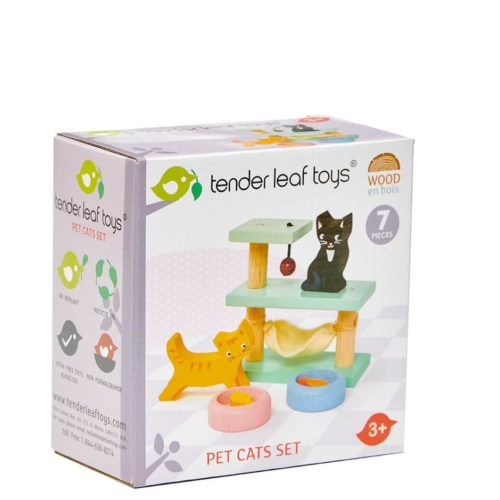 Tender Leaf Pet Cat Set