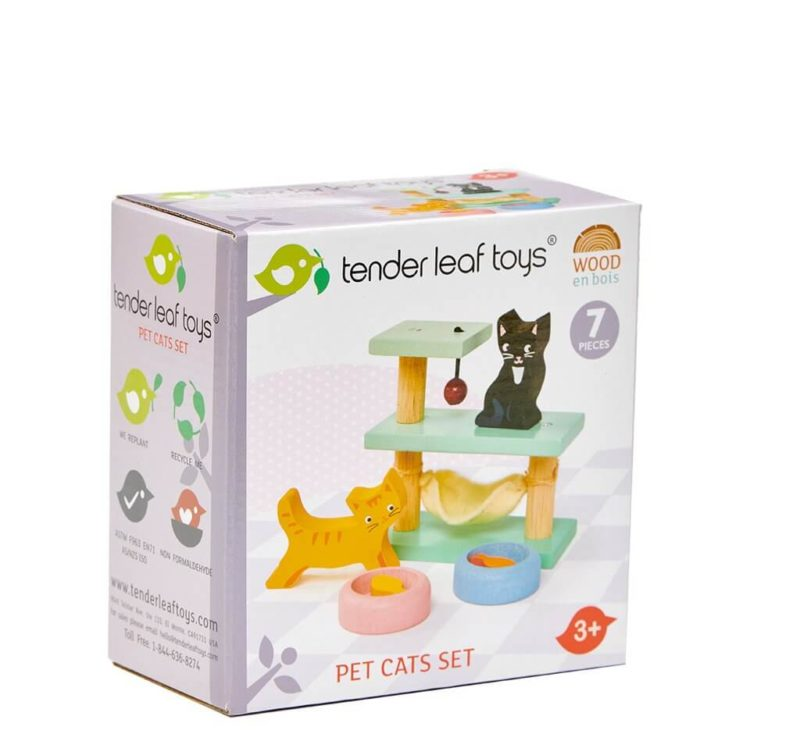 Tender Leaf Pet Cat Set