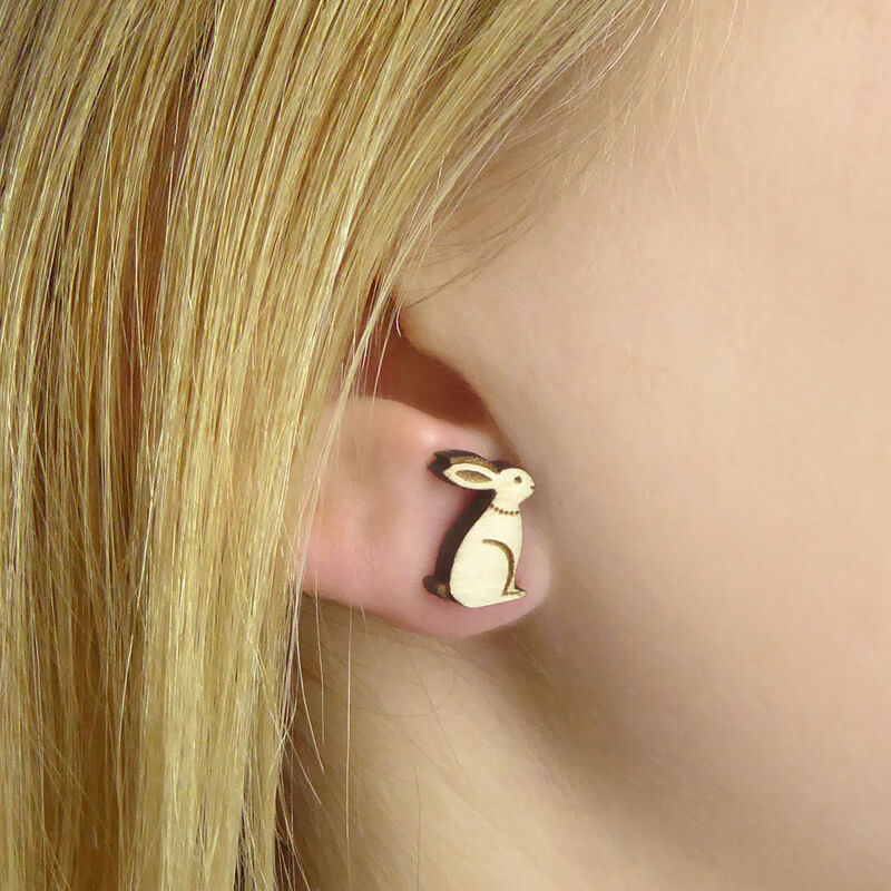 Layla Amber Hare Earrings