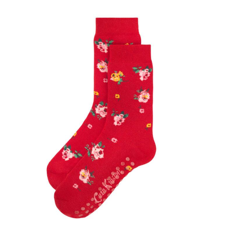 Cath Kidston Wimbourne Rose Bed Socks