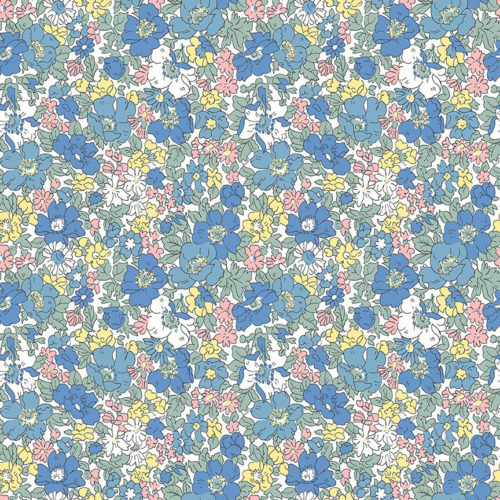 Liberty Fabrics - Flower Show Spring: Cosmos Bloom