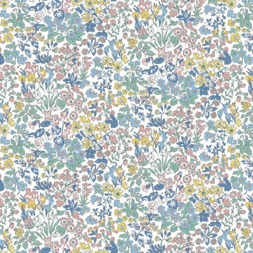 Liberty Fabrics - Flower Show Spring: Wisely Flowers