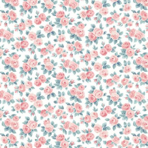 Liberty Fabrics - Flower Show Spring: Ascot Rose