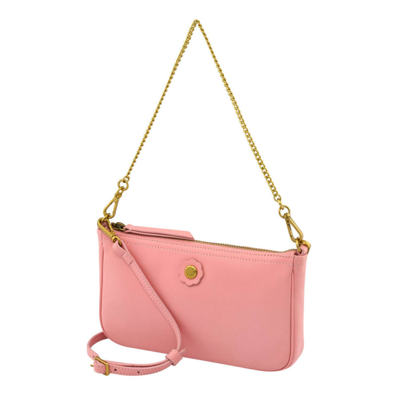 Cath Kidston Nappa Leather Demi Bag Pink