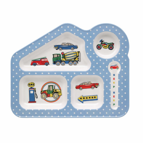 Cath Kidston Spaced Garage Station Melamine Food Tray