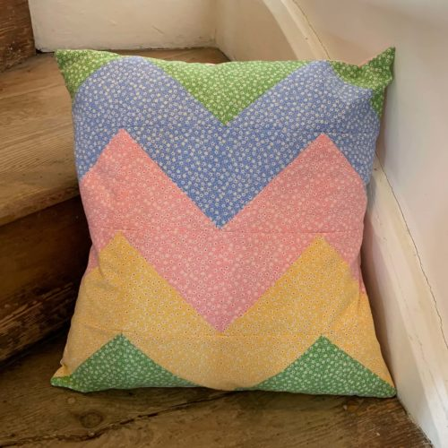 beginners zig zag cushion workshop