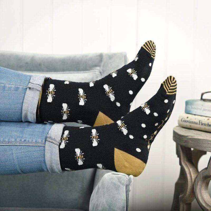 Sophie Allport Bees Ladies Socks
