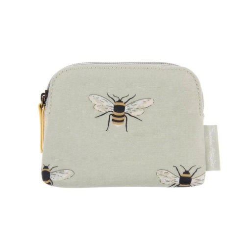 Sophie Allport Bees Oilcloth Coin Purse