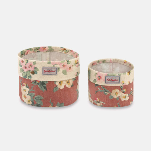 Cath Kidston Mayfield Blossom Set of Two Baskets