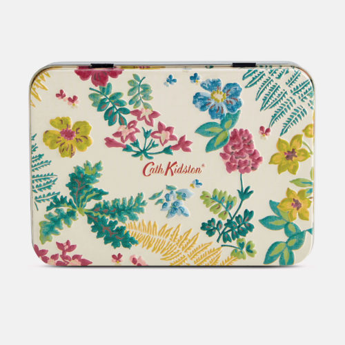 Cath Kidston Twilight Garden Hand and Lip Tin