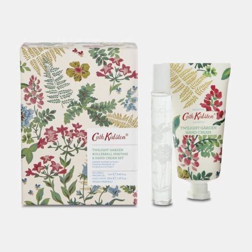 Cath Kidston Twilight Garden Handcream & Roller Ball Set