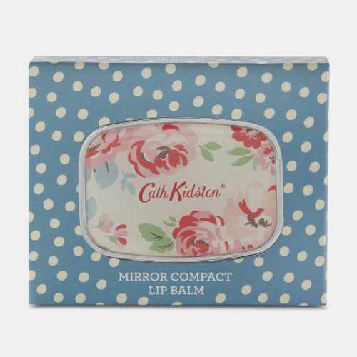 Cath Kidston Cottage Patchwork Lip Balm Mirror Compact