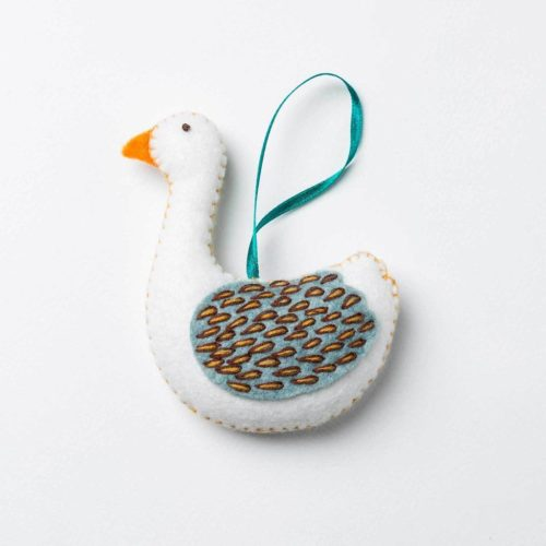 Corinne Lapierre Felt Goose a-Laying Mini Kit