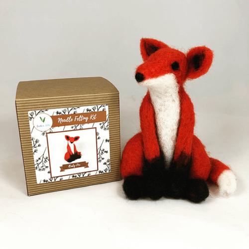 Rusty Fox Needle Felting Kit