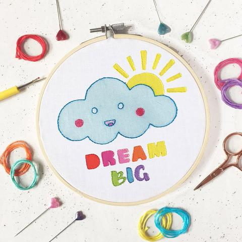 Dream Big Embroidery Kit