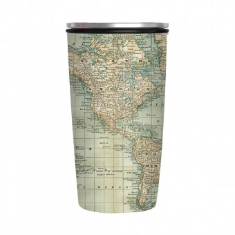 Chicmic Slide Cup Antique Map