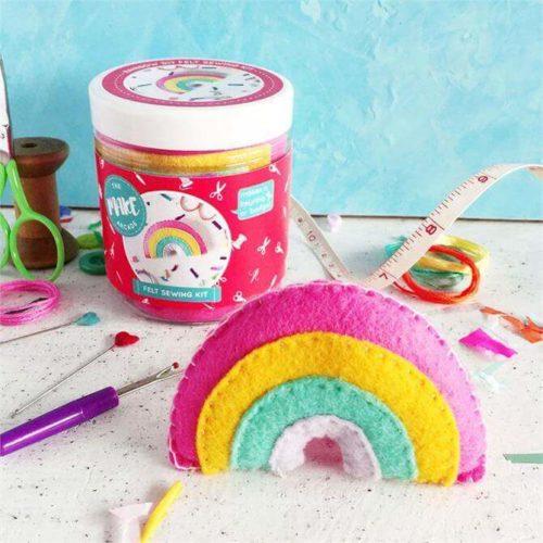 Rainbow Felt Sewing Kit