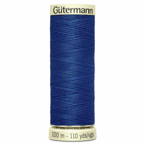 Gütermann Sew-All Thread: 100m: Blue 214