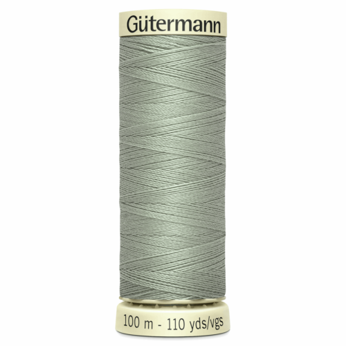 Gütermann Sew-All Thread: 100m: Grey 261