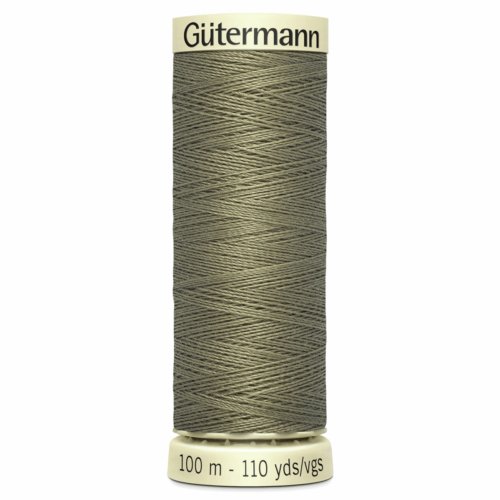 Gütermann Sew-All Thread: 100m: Khaki 264