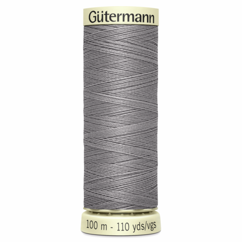 Gütermann Sew-All Thread: 100m: Grey 493
