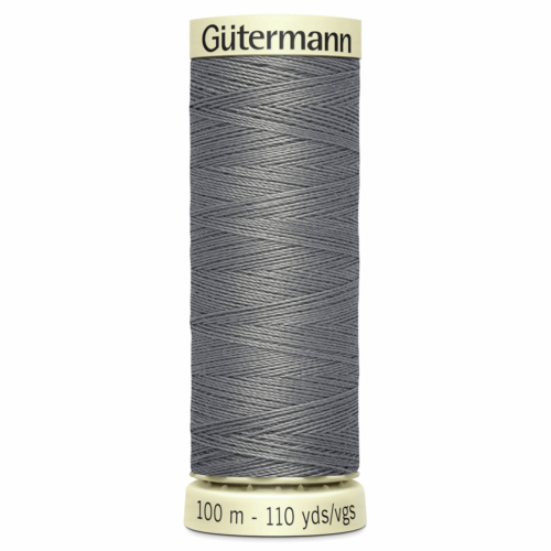 Gütermann Sew-All Thread: 100m: Grey 496