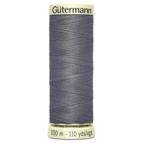 Gütermann Sew-All Thread: 100m: Grey 497