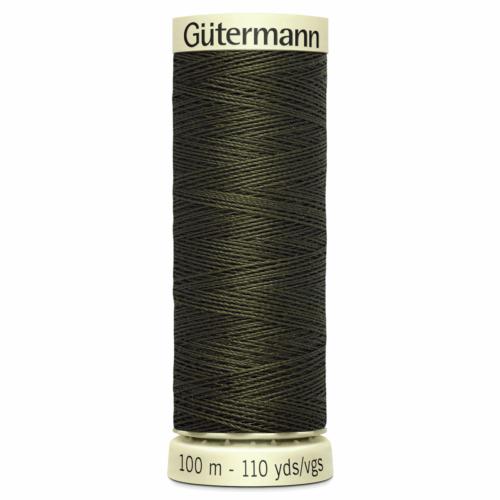 Gütermann Sew-All Thread: 100m: Dark Khaki 531
