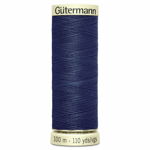 Gütermann Sew-All Thread: 100m: Blue 537