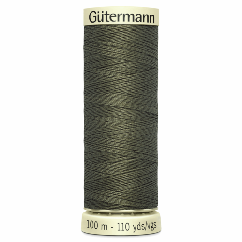 Gütermann Sew-All Thread: 100m: Dark Khaki 676
