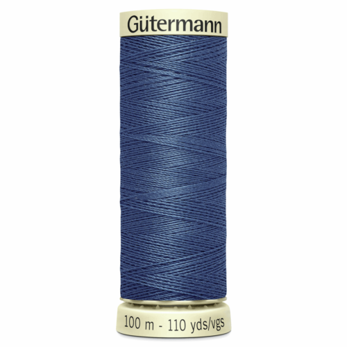 Gütermann Sew-All Thread: 100m: Blue 68