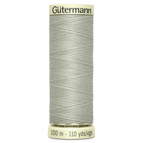 Gütermann Sew-All Thread: 100m: Grey 854