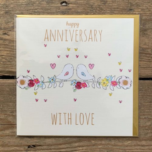 Happy Anniversary With Love Card