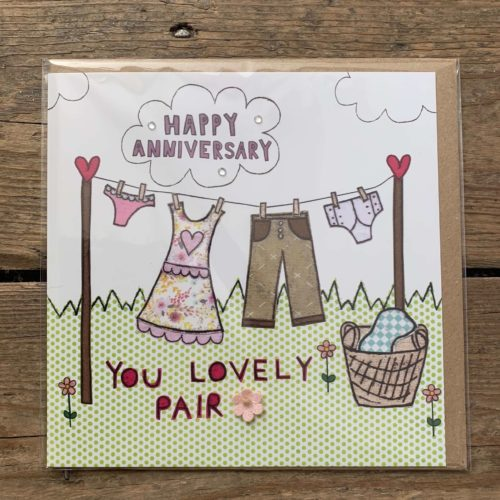 Happy Anniversary Your lovely Pair Card