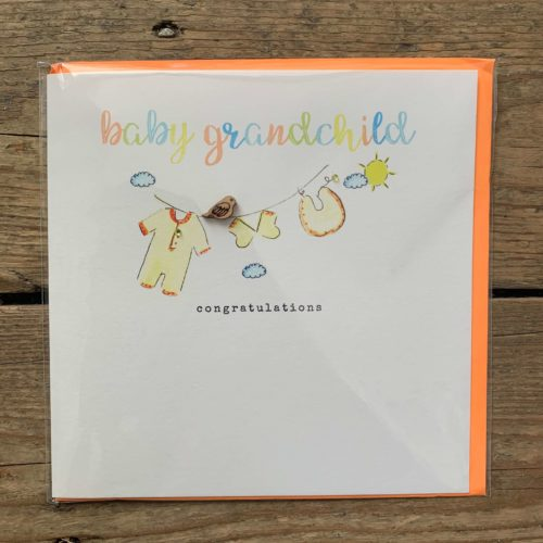 Baby Grandchild Card