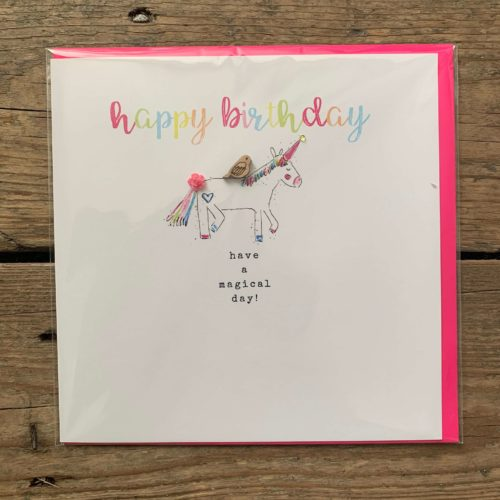 Happy Birthday Have a Magical Day Card