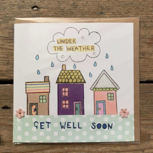 Get Well Soon - Under the Weather Card