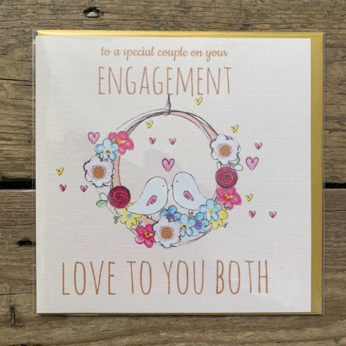 To a Special Couple Engagement Card