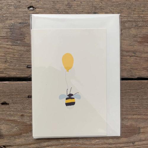 Bee & Balloon Card