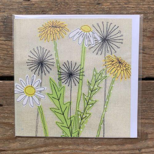 Dandelion & Daisy Card