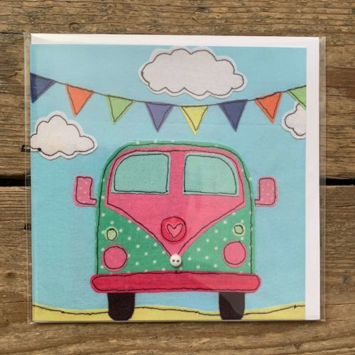 Camper Van Card