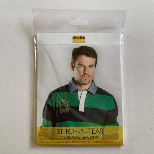 Vlieseline Stitch 'n' Tear: 90cm x 36cm
